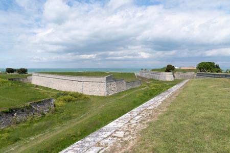 France fortress in Ile de Re isle in Aquitaine Zdjęcie Seryjne