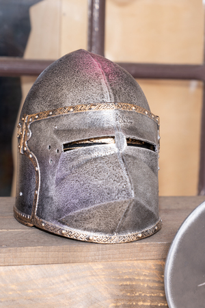Knight helmet Vintage Medieval Metal Armour Fighting