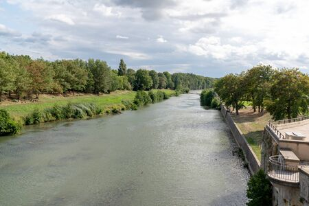 canal du midi in France goes through Carcassonne in the south