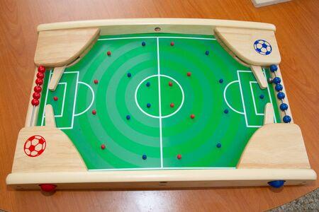 football soccer game kicker vintage table match