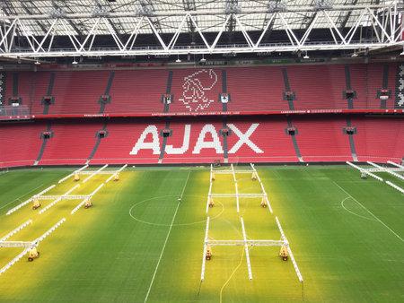 Amsterdam / Netherlands - 10 25 2018 : Ajax stadium Amsterdam city Netherlands soccer Football Editöryel