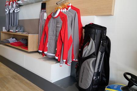 Bordeaux , Aquitaine / France - 10 11 2019 : Shopping Mall BMW Store clothing golf retail shop+ Reklamní fotografie - 133070236