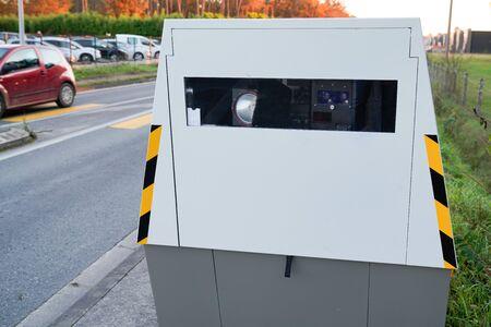 Speed automatic camera radar car modern speed trap