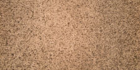 Grunge rough grain color cement wall brown sand background design