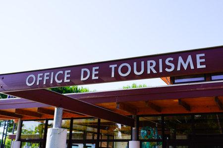 Bordeaux , Aquitaine / France - 06 20 2020 : office de tourisme sign text on tourism building in French language