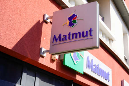 Bordeaux, Aquitaine / France - 07 30 2020: Matmut logo and text sign on office store building insurance agency french shop Éditoriale