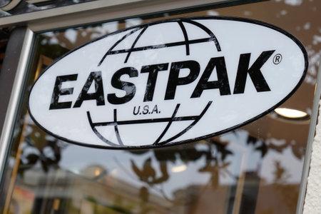 Bordeaux, Aquitaine / France - 07 30 2020: Eastpak shop logo and text sign for bags store brand Éditoriale