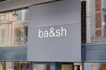 Bordeaux, Aquitaine / France - 10 01 2020: Ba & sh sign and text logo front of store fashion for women clothes shop