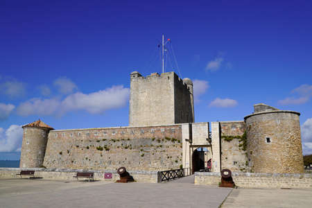 Ancient medieval fortification fort Vauban in Fouras France
