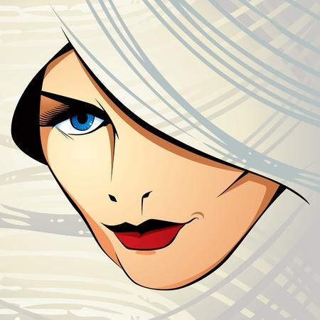 Attractive woman Stock Vector - 10338465