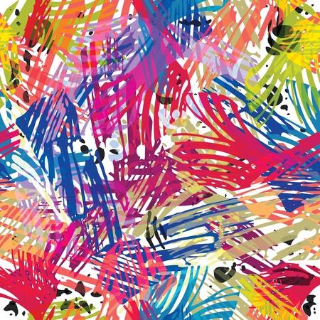 Color de pinta sin patrón. Ilustración de vector