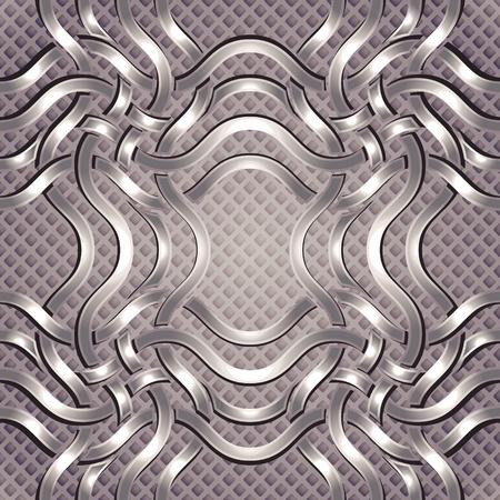 furnishing: Luxe naadloos patroon.