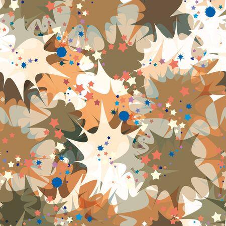 petard: Petard exploding seamless pattern. Illustration