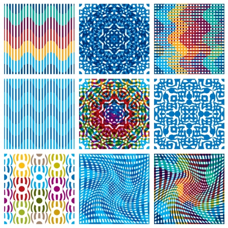 Seamless patterns. Vector