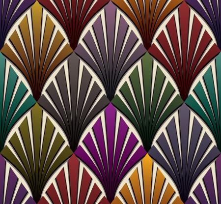 Vintage seamless pattern 1