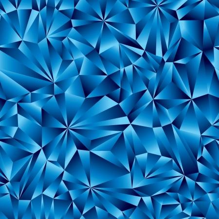 Синий геометрические поверхности бесшовные модели. Иллюстрация