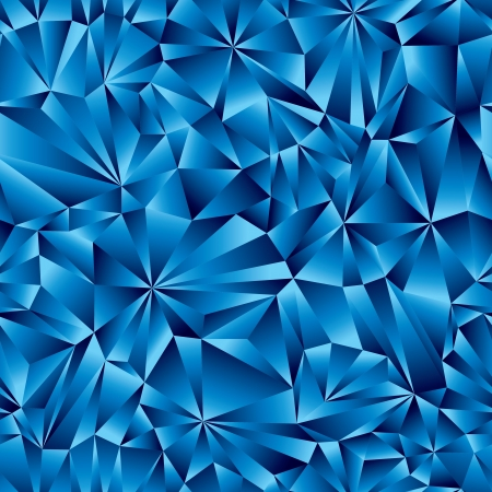 ice surface: Blue geometric surface seamless pattern.