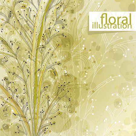 Floral illustration Stock Vector - 15274846
