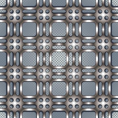 Metal netting texture beautiful pattern  Vector