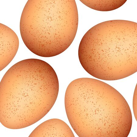Eggs seamless pattern Stock Vector - 15274759