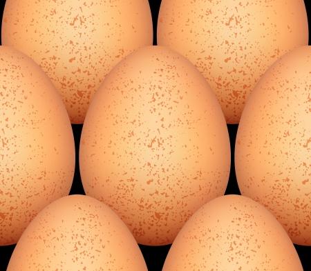 Eggs seamless pattern, ver2 Stock Vector - 15274758