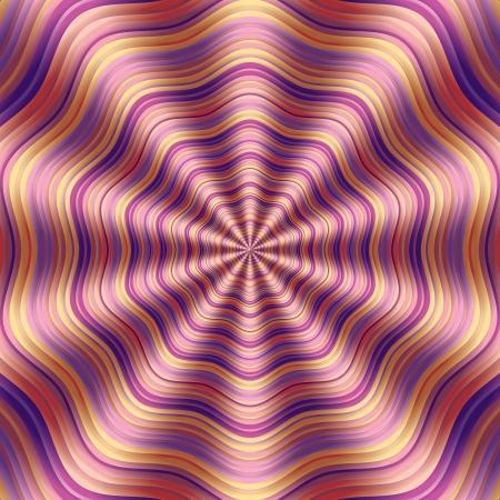 circulos concentricos: Fondo colorido