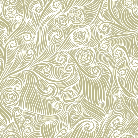 antique wallpaper: Seamless pattern, vintage style background