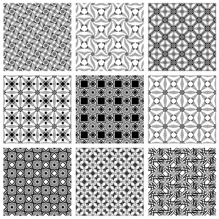Seamless patterns Stock Vector - 15275339