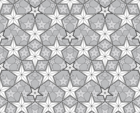 Stars seamless pattern. Stock Vector - 15275333