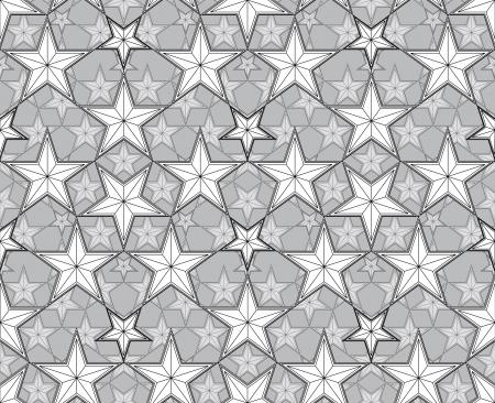 Stars seamless pattern. Stock Vector - 15275333