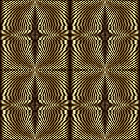 reaches: Foil stripes geometric seamless pattern.