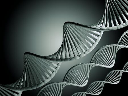 dna strand: DNA  Stock Photo