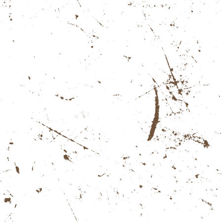 Seamless aged rusty grunge texture, vector background. Vector