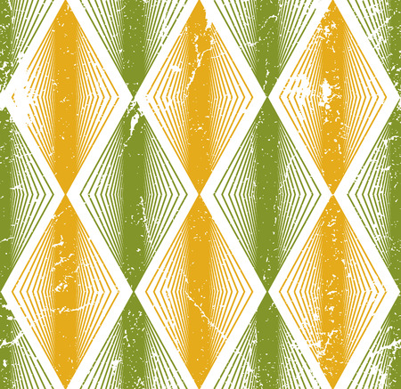 Rhombus seamless pattern, abstract geometric tiling background, vector illustration. Vector
