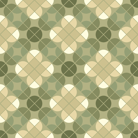 covering cells: Vector geometric floral background, ornamental abstract seamless pattern.