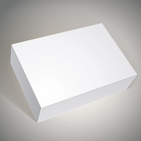 multiply: El dise�o del empaque de la caja blanca, modelo para el dise�o de su paquete, ponga su imagen a trav�s de la caja en modo multiplicar