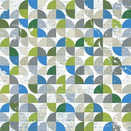illusory: Vector geom�trico colorido patr�n abstracto textil, al cuadrado de la lona del mosaico.