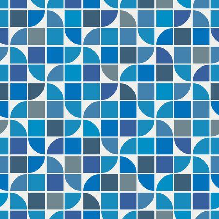 wasserwelle: Vector bunten geometrischen Hintergrund, Wasserwelle Thema abstraktes Muster. Illustration