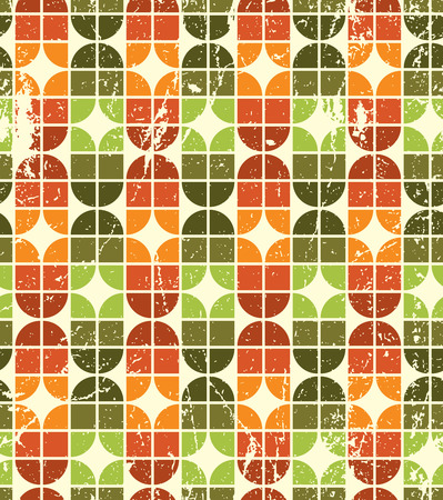 carpet and flooring: Vintage colorful decorative seamless pattern, rhombic abstract background.  Illustration