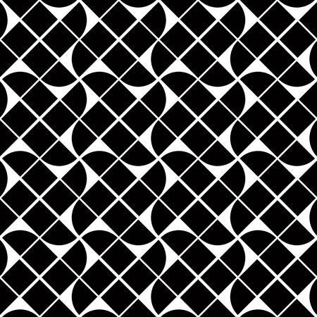 illusory: Modelo blanco y negro abstracto geom�trico sin fisuras, cambio de fondo vector.