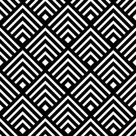 Бесшовные фон геометрический вектор, простой черно-белый полосы вектор, точной, редактируемые и полезно фон для дизайна или обои.