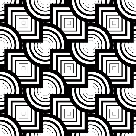 simplistic: Seamless geometric pattern, simple vector black and white stripes background, accurate, editable and useful background for design or wallpaper.