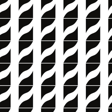 rectangle patterns: Ornate mosaic seamless pattern, geometric vector background.