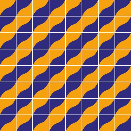 Geometrische tegels naadloze patroon, vector achtergrond.