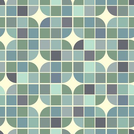 illusory: Vector colorido entrelazado fondo geom�trico, ilusoria sin patr�n abstracto cuadrado.