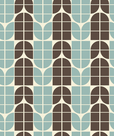 floor covering: Vector neutral geometric background, ornament abstract seamless pattern. Illustration