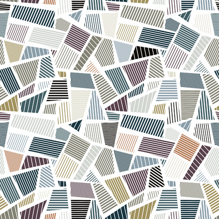 Patches seamless texture, vector background. Vector