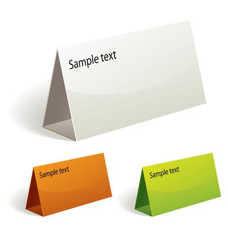 talker: Table talker, vector color set.