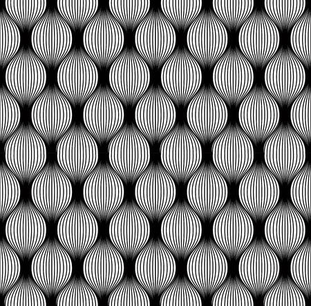 repeatable texture: Modelo incons�til del estilo vintage en blanco y negro, vector de fondo.
