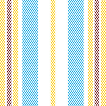 Lined simplistic textile seamless pattern, vector background.